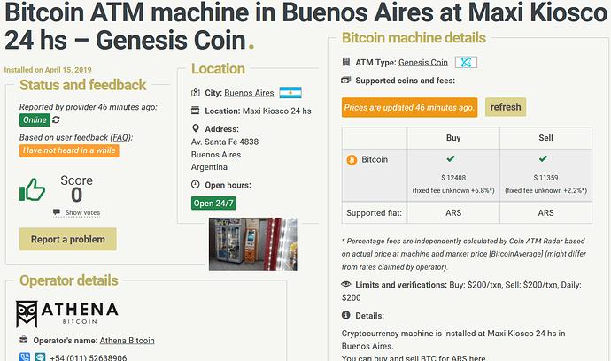 ATM Argentina