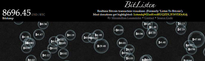 Tx Watch btc  transactions
