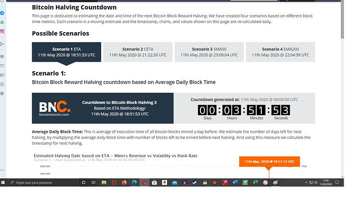 halving countdown