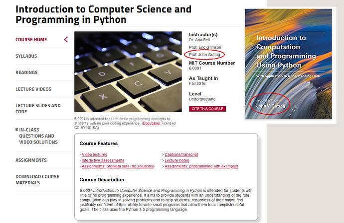 Introd Comp e Basico de Python do MIT