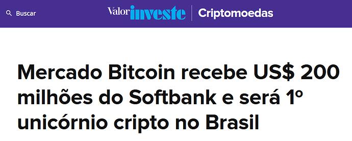 Mercado Bitcoin Valor Investe