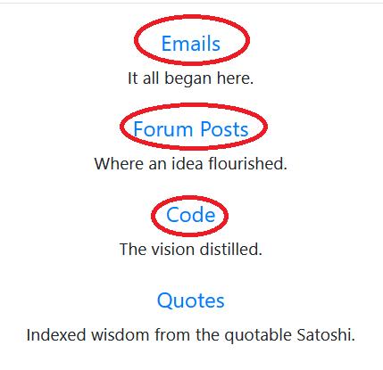 Satoshi Emails posts